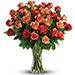 Peach Love Roses Arrangement