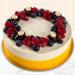 Yummy Vanilla Berry Delight Cake- 1.5 Kg