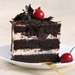 Black Forest Vegan Cake- 1 Kg