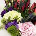 Wondrous Eryngium and Hydrangea Bouquet SG