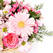 Mixed Basket Of Chrysanthemums and Roses SG