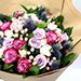 Exotic Roses and Hypericum Mixed Bouquet SG